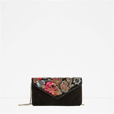 Embroidered Crossbody Bag image 2 of embroidered crossbody bag from zara acc i