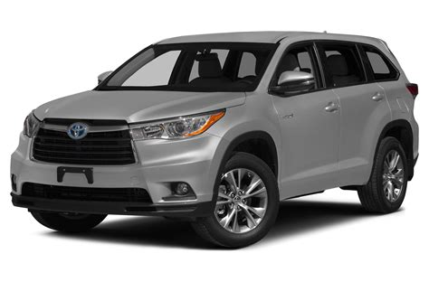 Toyota Hybrid Suv 2015 Toyota Highlander Hybrid Price Photos Reviews