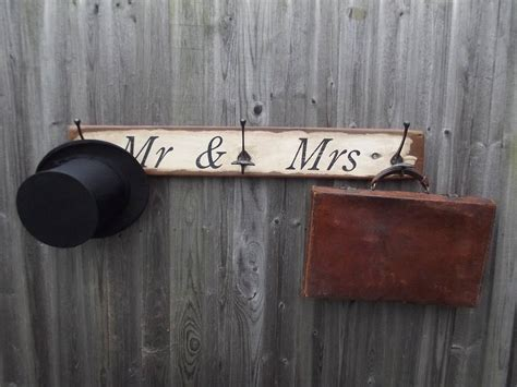 mr and mrs hook board by woods vintage home interiors