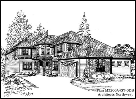 3800 sq ft house plans european home with 3 bedrms 3800 sq ft plan