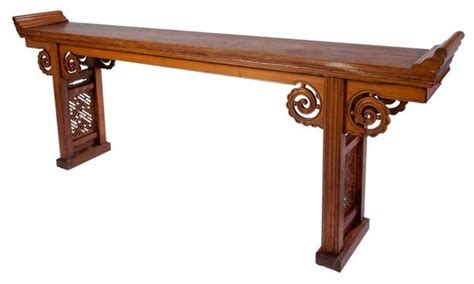 asian accent table long chinese alter table with drawers asian side