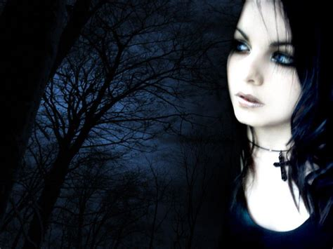 wallpaper girl dark gothic dark art dark girl with background picture nr