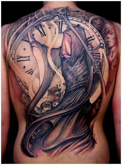 father time tattoo 32 best time design images on