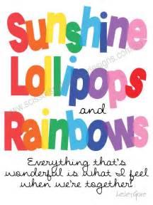 Sunshine lollipops and rainbows birthday ideas themes pinterest