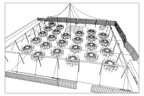 wedding reception layouts for 150 people with 60x60 tent cad tent layout for wedding ceremony and reception in