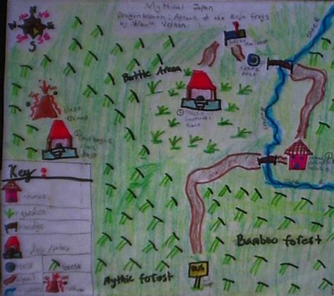 Flee Map Book Report by Project Book Report Cves 4th Grade