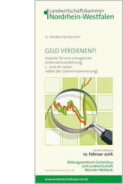 Garten Und Landschaftsbau Ausbildung Köln by 15 Galabau Symposium 2016 Geld Verdienen