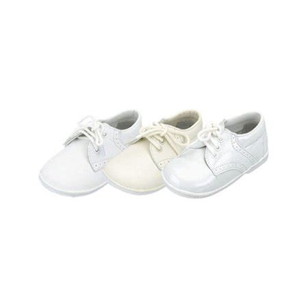 baby toddler boys white classic saddle style dress shoes size 1 7 walmart