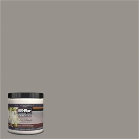 behr premium plus ultra 8 oz ul260 5 elephant skin interior exterior paint sle ul260 5