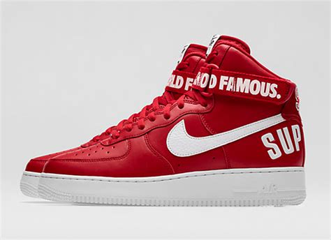 supreme nike air 1 nikestore releases supreme x air 1 high quot