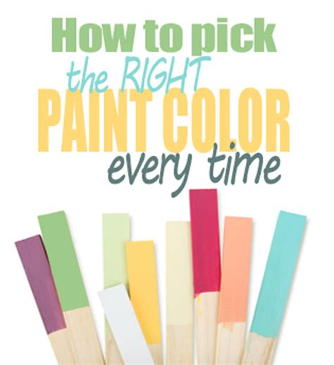 how to pick a paint color how to pick the right paint color every time living rich