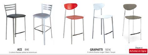 chaise pour plan de travail chaise haute pour plan de travail cuisine