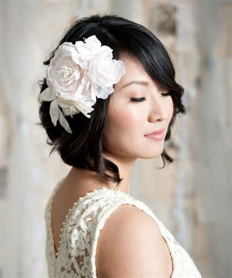 bridal hairstyles for short hair wedding hairstyles for short hair dipped in lace