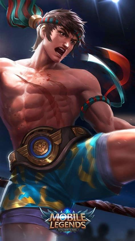 thai boxing chou  gambar gambar konsep karakter