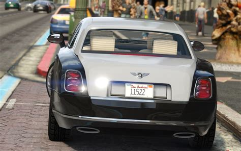 bentley mulliner bentley mulsanne mulliner 2013 add on replace gta5