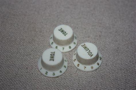 fender stratocaster white guitar knobs vintage 70 s reverb