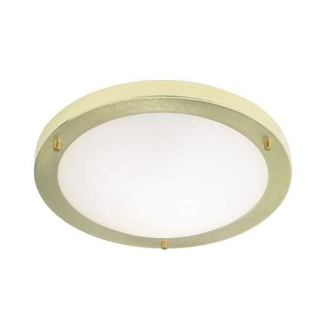 Brass Ceiling Lights Modern Endon Endon El 440 30bb 1 Light Modern Bathroom Flush Ceiling Light Brushed Brass Finish Ip44