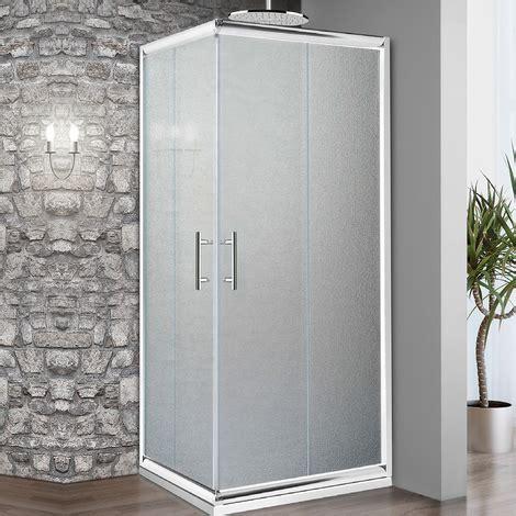 box doccia in cristallo temperato box doccia 75x75 cm in cristallo temperato da 6 mm