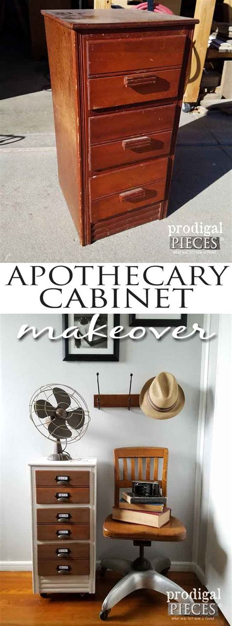 Diy Apothecary Cabinet by Apothecary Cabinet Makeover A Trashure Story Prodigal