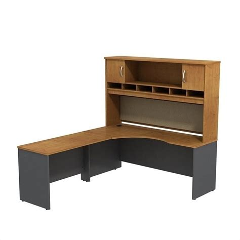 Corner Desk Hutch Bush Business Series C 72w X 24d Lh Corner Hutch Desk Src002ncl