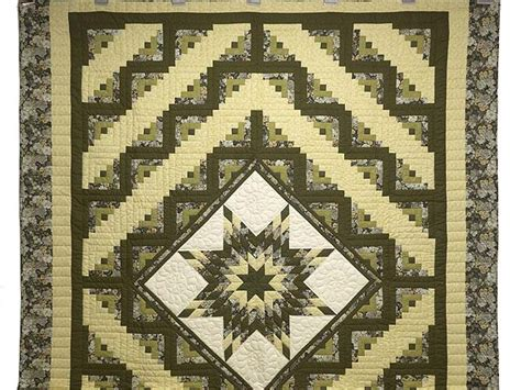 Lone Log Cabin Quilt Pattern by Lone Log Cabin Quilt Marvelous Smartly Made Amish
