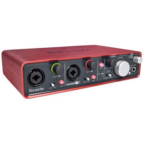 Usb Audio Interface focusrite 2i4 171 audio interface