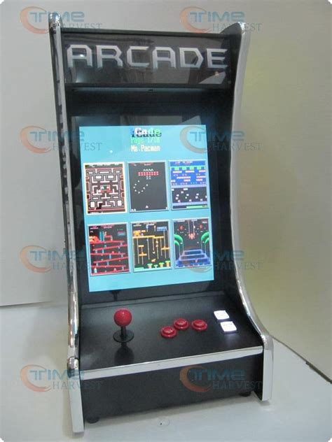 19 inch lcd table top arcade machine with classical