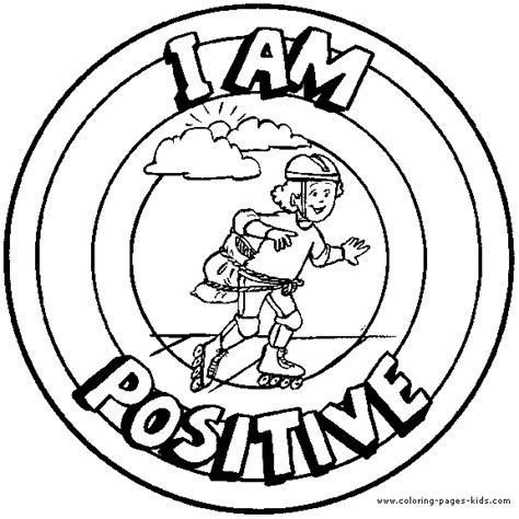 positive behavior coloring pages