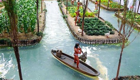 chinampas  ingenious floating gardens   ancient aztecs