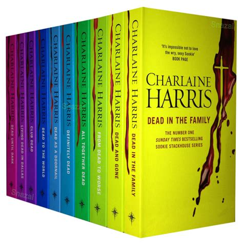 blood binds the pack books true blood 10 books set charlaine harris collection sookie