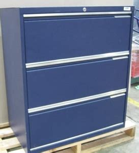 blue metal filing cabinet blue metal filing cabinet 3 drawer lateral opening