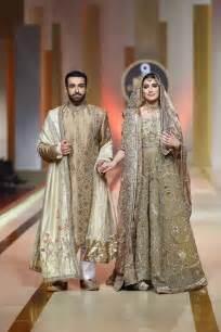 Fahad Hussayn Collection At Qmobile Hum Bridal Couture