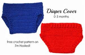 Crochet diaper cover by i m hooked free pattern