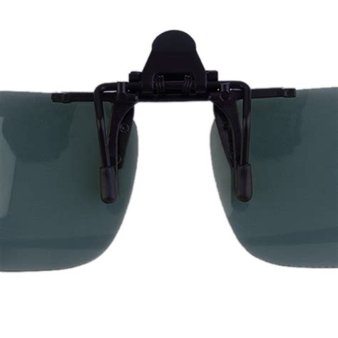 Driving Clip On Glasses driving vision clip on flip up lens sunglasses