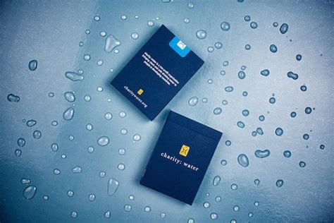 Charity Water Gift Card - charity water playing cards review 187 the gadget flow