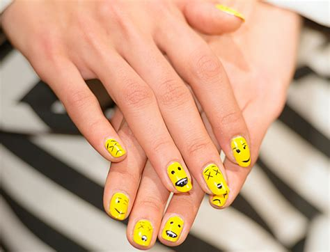 nails  show  york fashion week