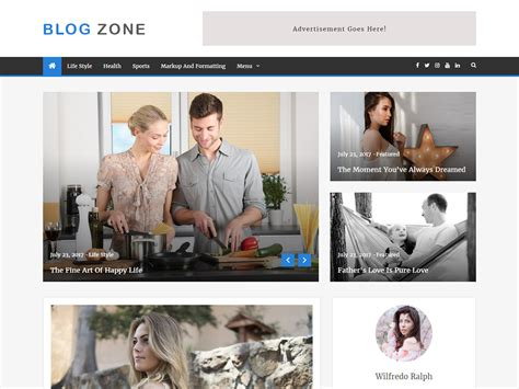 themes zone download blog zone wordpress theme demo information and analytics