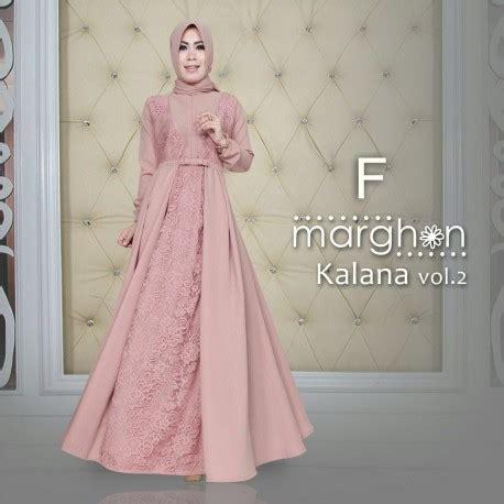 Alana Dress Tosca By Sheika kalana f baju muslim gamis modern