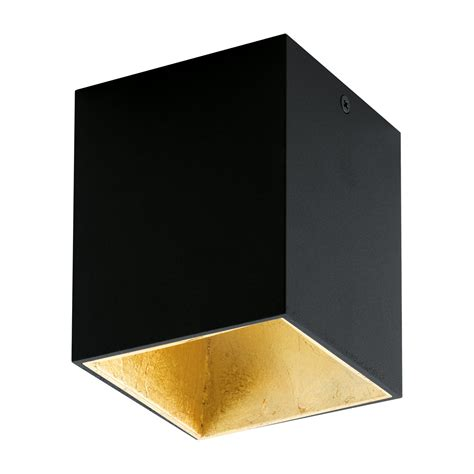 deckenleuchte gold eglo wandleuchte deckenleuchte led polasso schwarz gold