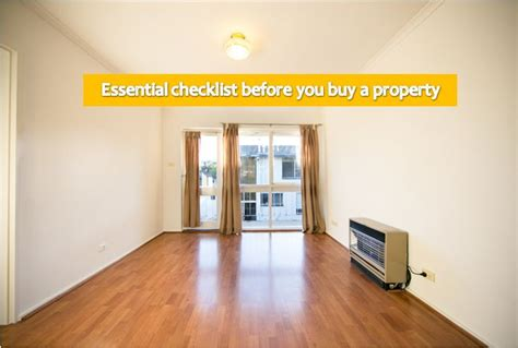 before buying a house checklist 8 essential checklist for buying property by a real life