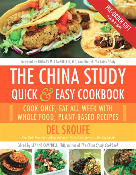 Pdf China Study Easy Cookbook china study easy cookbook pre order gift