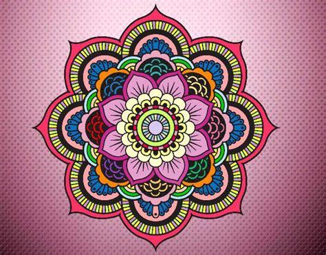 imagenes flor mandala mandala flor oriental ideas para el hogar pinterest