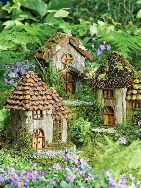 gnome house fairy house