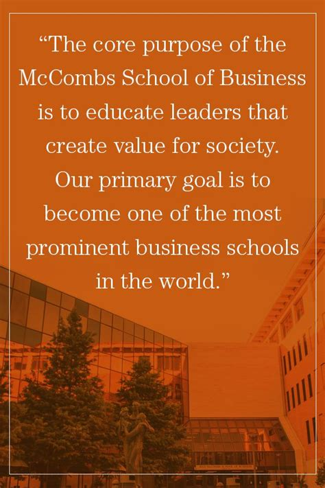 Mccombs Executive Mba Tuition by I The Potential To Contribute Towards The Mission Of