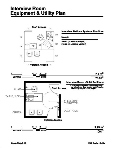 Home Design Layout Pdf Interview Room Equipment Amp Utility Plan