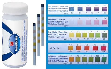 How Do I Lower Alkalinity In My Tub bestway 5 1 pool spa tub water test strips chlorine ph