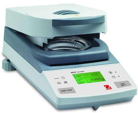 moisture analyzer halogen moisture analyzer