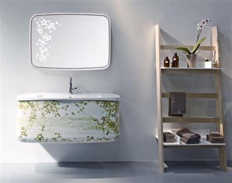 Collezione metamorfosi base monoblocco e specchio per bagno metamorfosi collection
