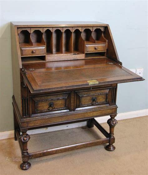 Antique Oak Writing Desk by Antique Oak Bureau Writing Desk Antiques Atlas