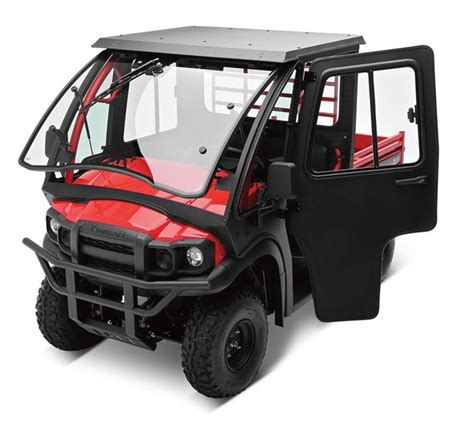 Accessories For Kawasaki Mule by 2014 Mule 610 4x4 Cab Enclosure